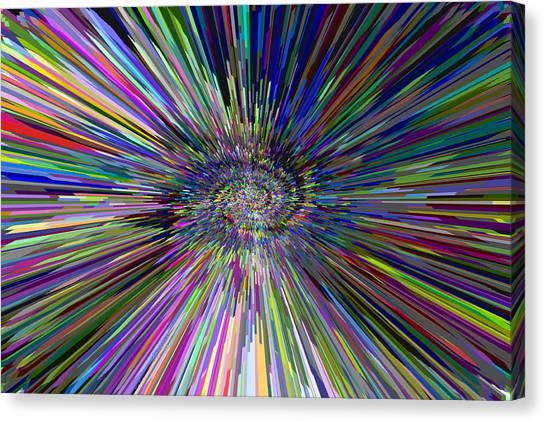 3 D Dimensional Art Abstract Canvas Print