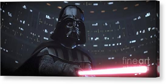 Darth Vader Canvas Print - Darth Vader by Baltzgar