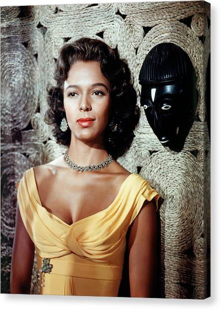 Dorothy Dandridge Canvas Print by Silver Screen