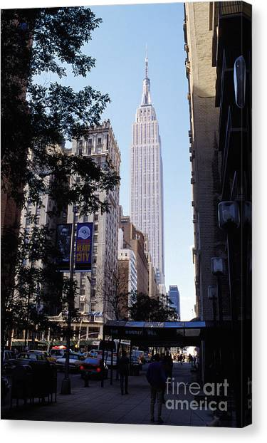 Empire Canvas Print - Empire State Building by Jon Neidert