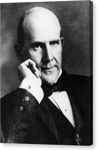 Carousel Collection Canvas Print - Eugene Debs (1855-1926) by Granger