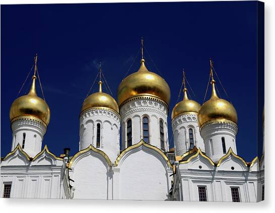 The Annunciation Canvas Print - Europe, Russia, Moscow by Kymri Wilt