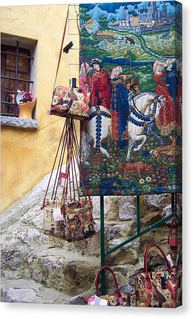 Eze Tapestry Canvas Print