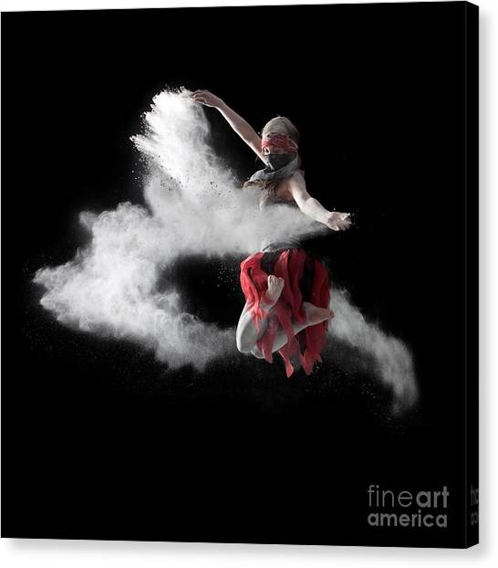 Flour Dancer Series Canvas Print