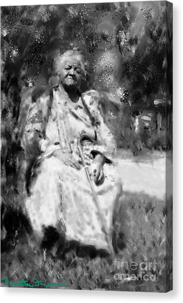 Former Slave Woman Canvas Print