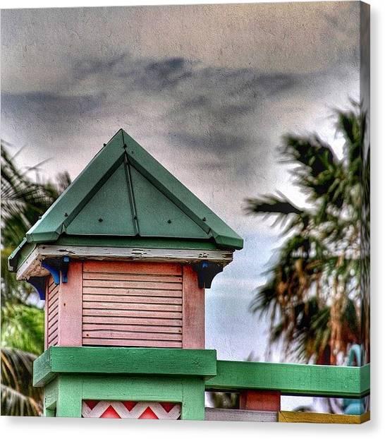 Bahamas Canvas Print - Freeport Nassau  Freeport Is A City by Octav Studio