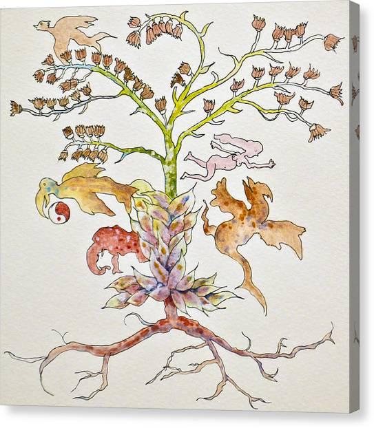 Garden Of Eve Canvas Print