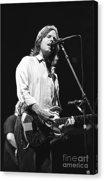 Folk Singer Canvas Print - Grateful Dead - Bob Weir by Concert Photos