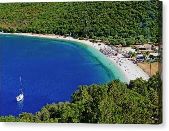 Greece, Ionian Island, Cephalonia Canvas Print