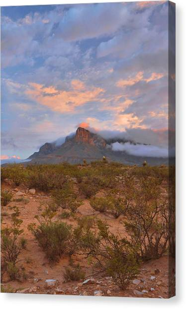 Guadalupe Mountains Sunrise Canvas Print