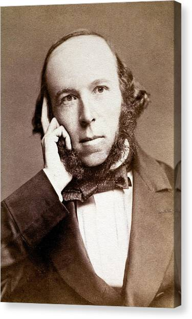 Principals Canvas Print - Herbert Spencer by Paul D Stewart