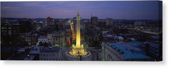 Washington Monument Canvas Print - High Angle View Of A Monument by Panoramic Images