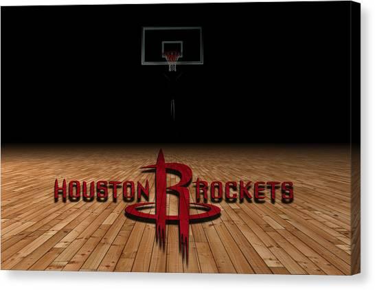 Houston Rockets Canvas Print - Houston Rockets by Joe Hamilton