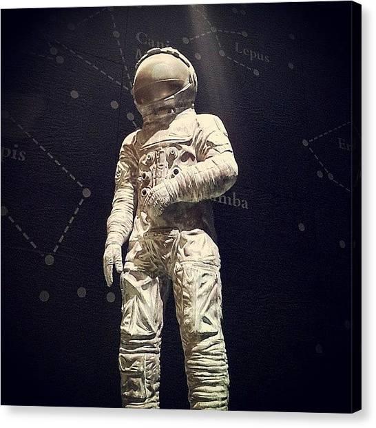 Space Suit Canvas Print - Instagram Photo by Pink Dark Boi