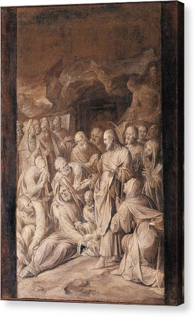 Procaccini Canvas Print - Italy, Lombardy, Milan, Archbishops by Everett