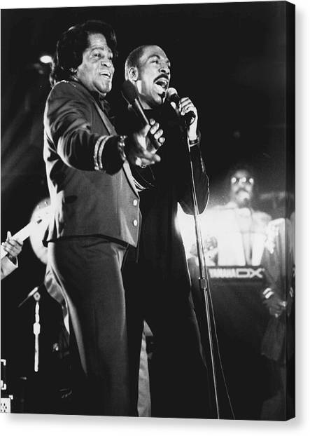 Augusta Canvas Print - James Brown by Retro Images Archive