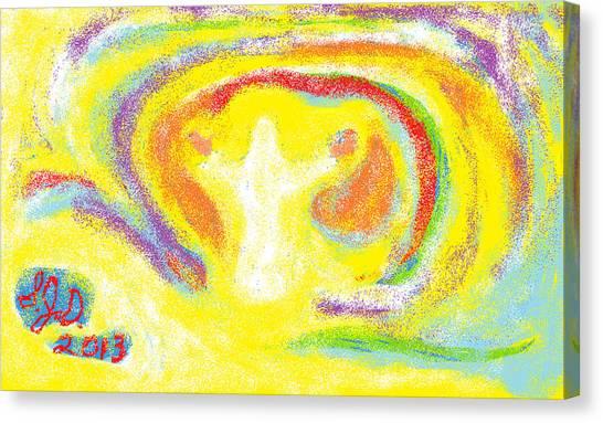 Jesus Canvas Print by Joe Dillon