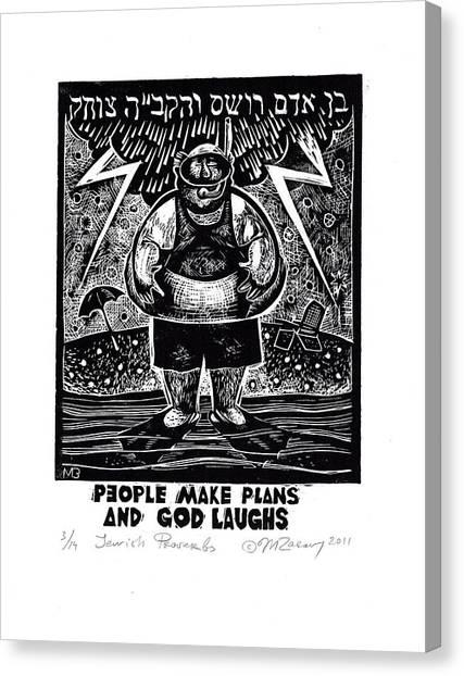 Jewish Proverbs Canvas Print