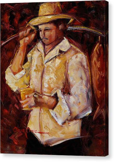 Jibaro De La Costa Canvas Print