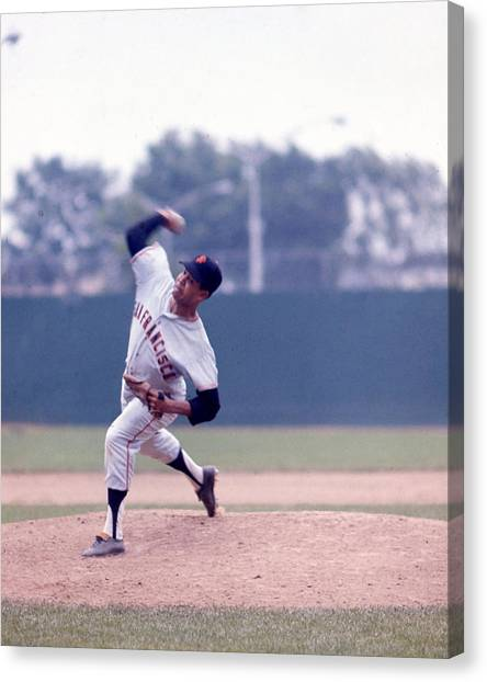 The Red Sox Canvas Print - Juan Marichal by Retro Images Archive