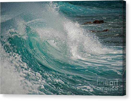 Kaua Beach Canvas Print