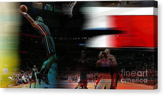 Lebron James Canvas Print - Lebron James by Marvin Blaine