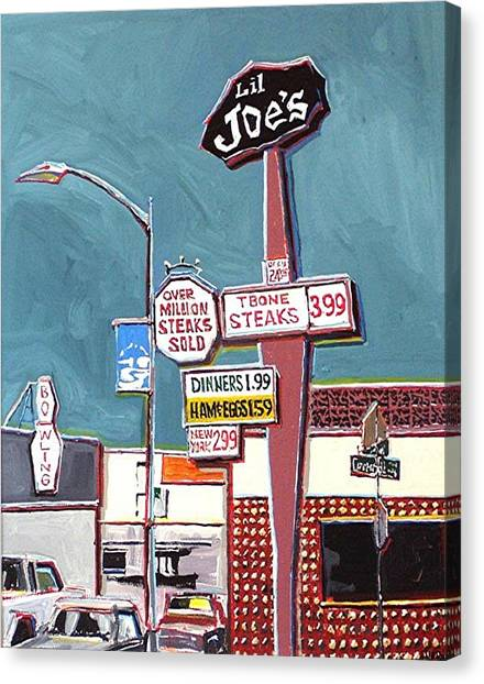 Li'l Joe's Canvas Print by Paul Guyer