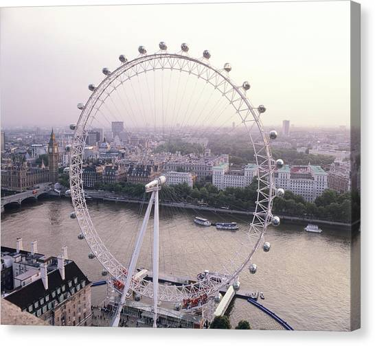 London Eye Canvas Print - London Eye by Mark Thomas/science Photo Library