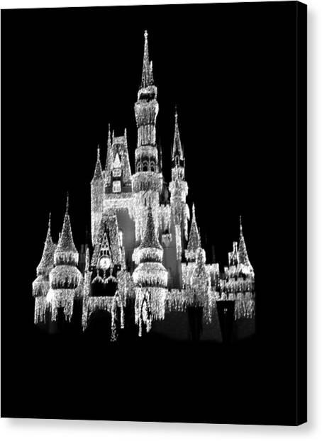 Orlando Magic Canvas Print - Magic Kingdom by Art Spectrum