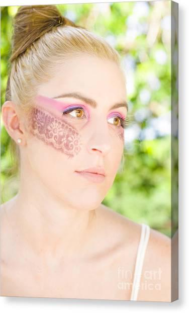 Daydream Canvas Print - Makeup by Jorgo Photography - Wall Art Gallery