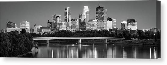 Canvas Print - Minneapolis Mn by Panoramic Images