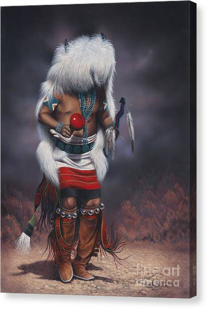 Mystic Dancer Canvas Print