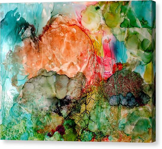 New Upload Canvas Print by Susan Kubes