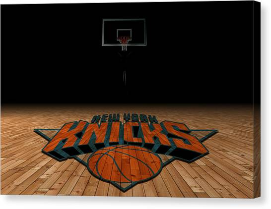New York Knicks Canvas Print - New York Knicks by Joe Hamilton