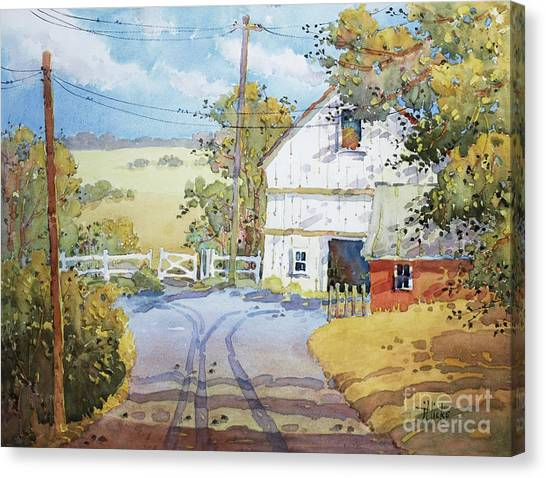 Peaceful In Pennsylvania Canvas Print