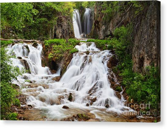 Roughlock Falls Canvas Print