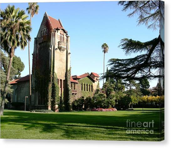 San Jose State University Canvas Print - San Jose by Ted Pollard