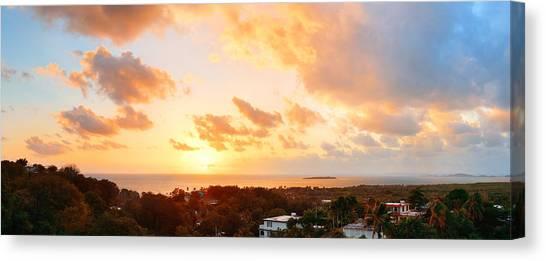 San Juan Sunrise Canvas Print