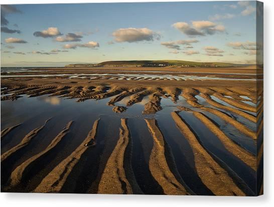 Saunton Sands Devon Canvas Print