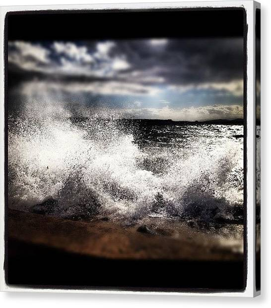 Liquids Canvas Print - Sea Side by Armando Costantino