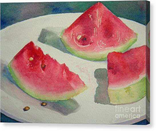 3 Slices Canvas Print by Lisa Pope