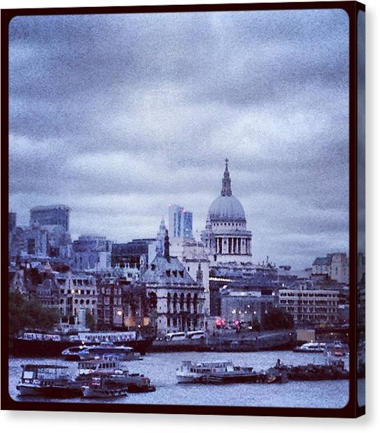 St Paul's Canvas Print by Maeve O Connell