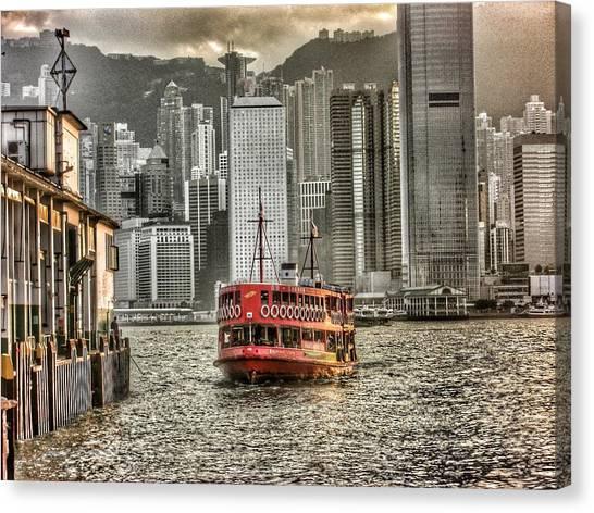 Hong Kong Canvas Print - Star Ferry by Lorelle Phoenix