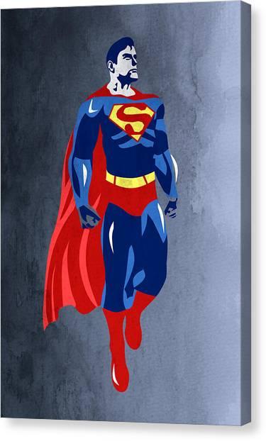 Sensual Canvas Print - Superman  by Mark Ashkenazi