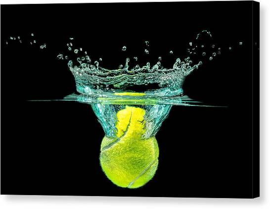 Tennis Ball Canvas Print