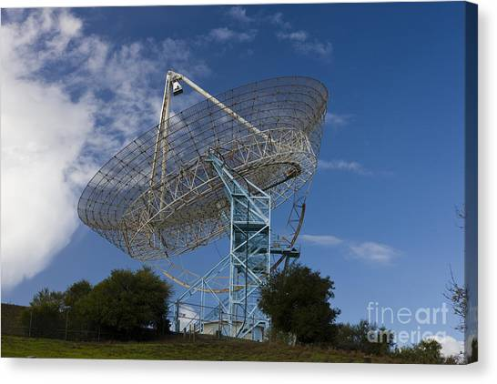 Junior College Canvas Print - The Dish Stanford University by Jason O Watson
