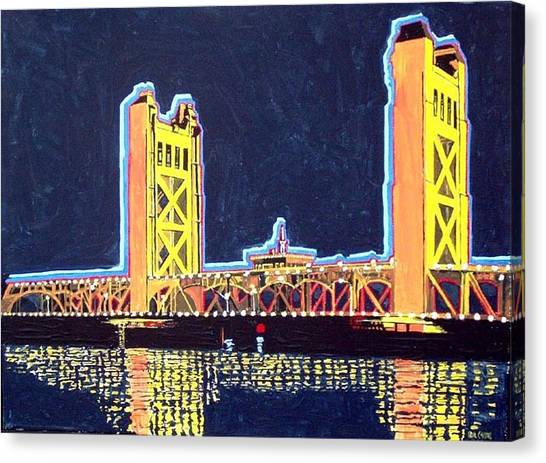 Tower Bridge Canvas Print by Paul Guyer