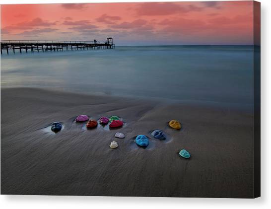 Long Exposure Canvas Print - Untitled by E.amer