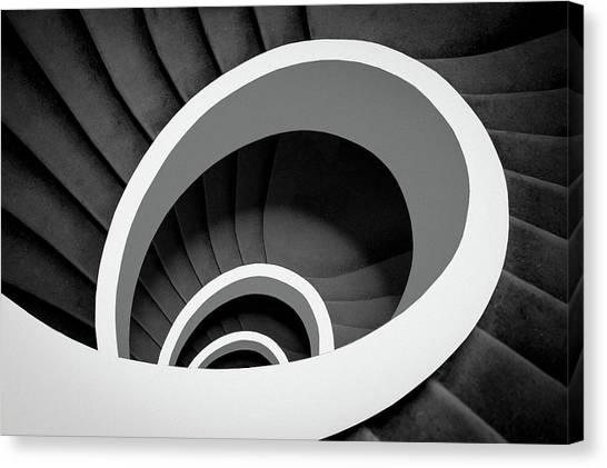 Spiral Canvas Print - Untitled by Inge Schuster