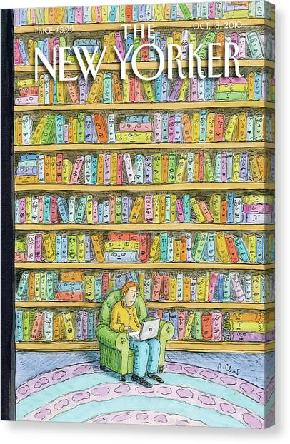 Supplies Canvas Print - New Yorker October 18th, 2010 by Roz Chast